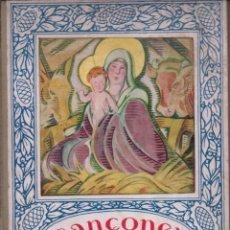 Libros antiguos: CANÇONER DE NADAL (JOVENTUT, 1035) EN CATALÀ - COMO NUEVO. Lote 215274045
