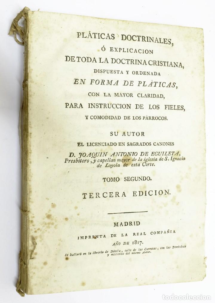 Libros antiguos: Siglos XVII y XVIII - Lote de 8 Libros semi-defectuosos ¡ALGUNAS PIEZAS ÚNICAS! ¡Algunos ilustrados! - Foto 24 - 215428051