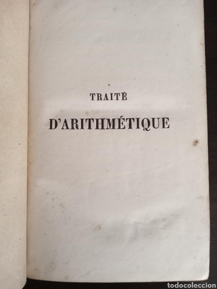 TRAITE D'ARITHMÉTIQUE (Libros Antiguos, Raros y Curiosos - Otros Idiomas)