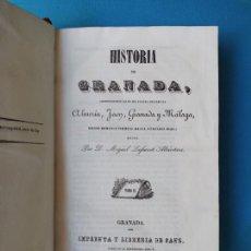 Libros antiguos: HISTORIA DE GRANADA - MIGUEL LAFUENTE - 1844 - TOMO II. Lote 215641772
