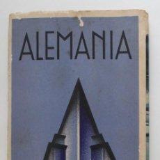 Libros antiguos: ALEMANIA SU MODERNA ARQUITECTURA - FOTOGRAFÍAS. Lote 215197298