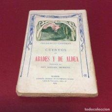 Libros antiguos: CUENTOS DE ABADES Y DE ALDEA 1909. CANITROT,. Lote 215912383