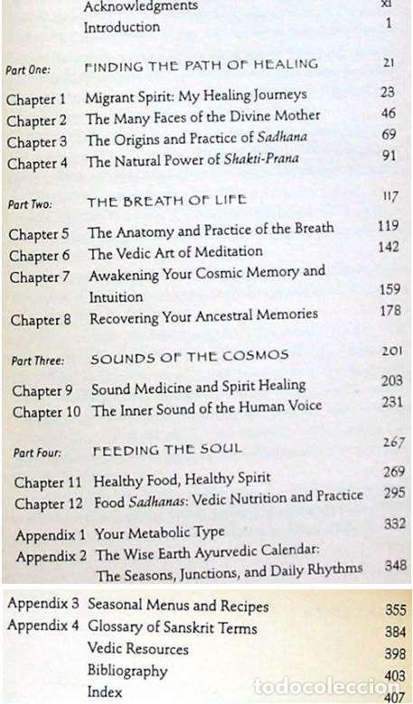 Libros antiguos: THE PAHT OF PRACTICE - A WOMANS BOOK OF AYURVEDIC HEALING - BRI MAYA TIWARI - VER INDICE - Foto 3 - 216001831