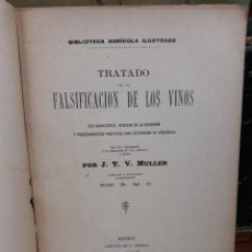 Libros antiguos: TRATADO FALSIFICACION DE VINOS. Lote 216014548