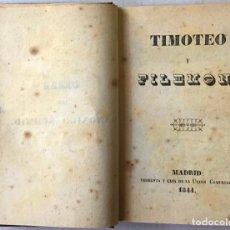 Libros antiguos: TIMOTEO Y FILEMON. - SCHMID.. Lote 123246635