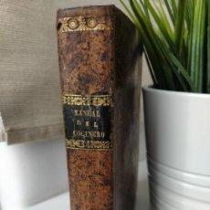 Libros antiguos: MANUAL DEL COCINERO Y LA COCINERA 6ª EDICIÓN. Lote 216567153