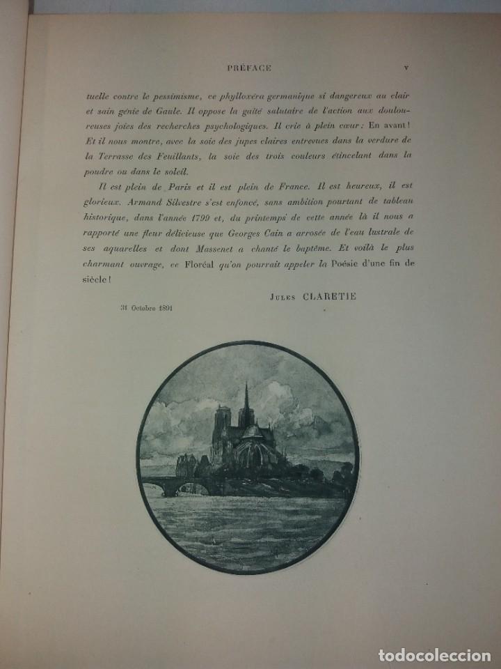 Libros antiguos: FLOREAL PRECIOSO Y EXTRAORDINARIO LIBRO UNICO EN TODOCOLECCION 1891 CASI 130 AÑOS - Foto 13 - 216600275