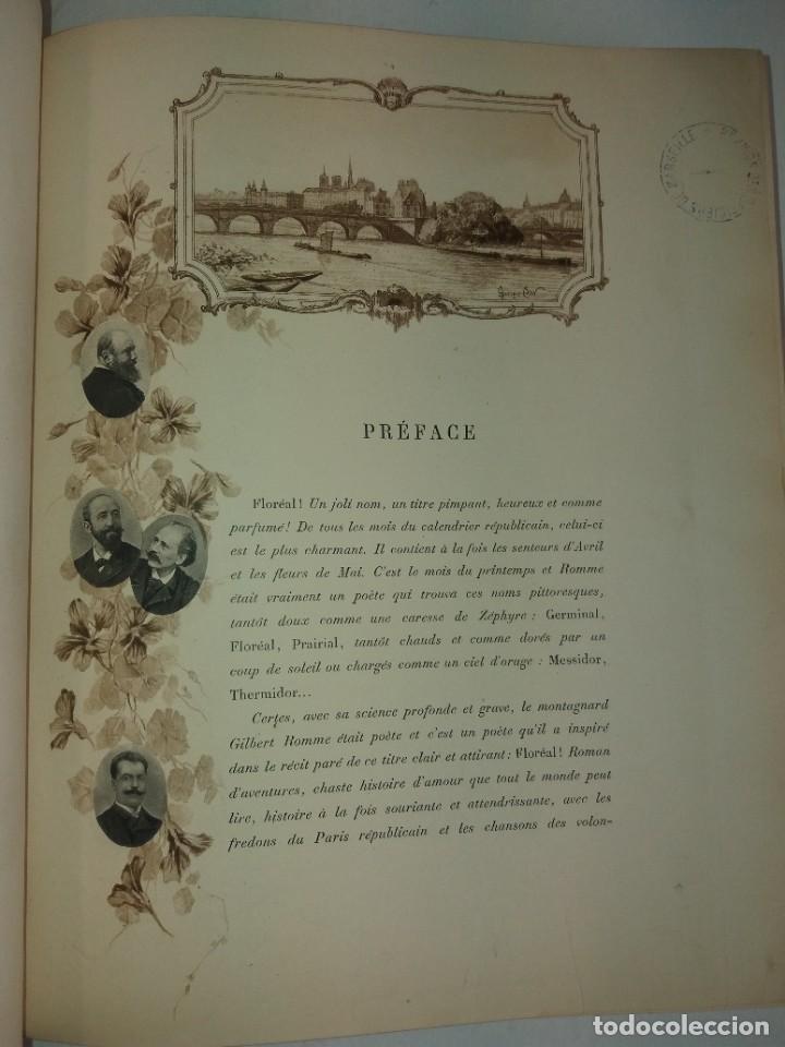 Libros antiguos: FLOREAL PRECIOSO Y EXTRAORDINARIO LIBRO UNICO EN TODOCOLECCION 1891 CASI 130 AÑOS - Foto 14 - 216600275