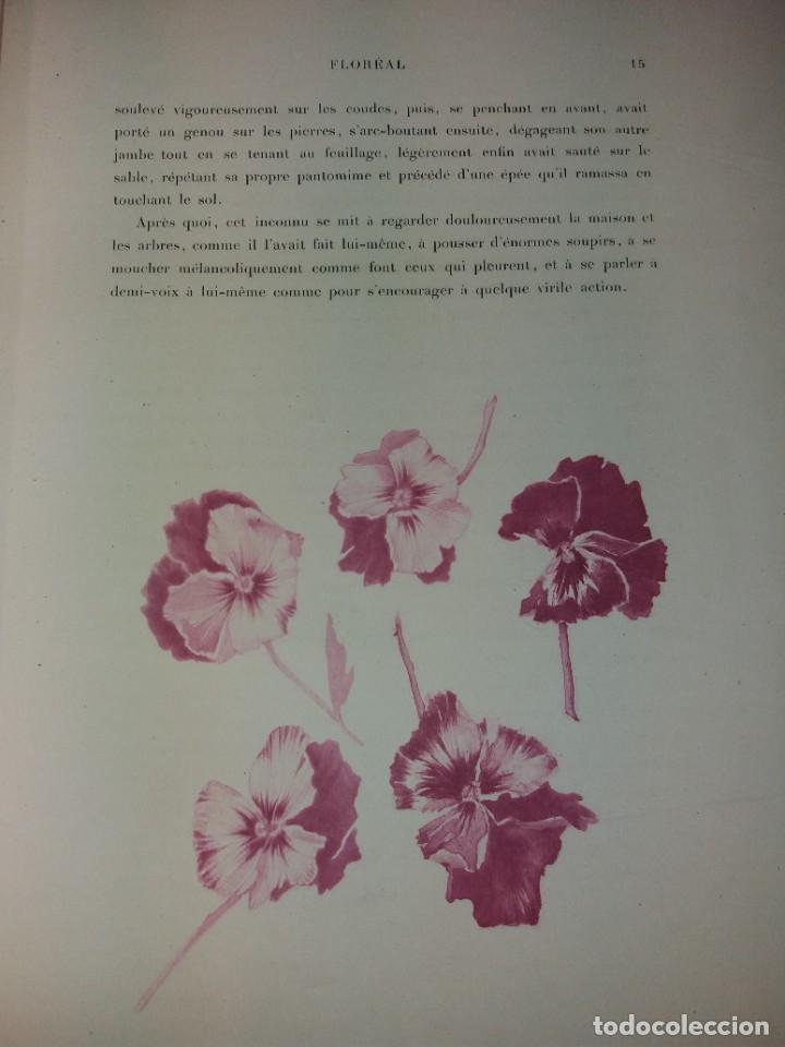 Libros antiguos: FLOREAL PRECIOSO Y EXTRAORDINARIO LIBRO UNICO EN TODOCOLECCION 1891 CASI 130 AÑOS - Foto 19 - 216600275