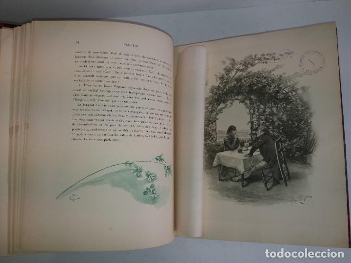 Libros antiguos: FLOREAL PRECIOSO Y EXTRAORDINARIO LIBRO UNICO EN TODOCOLECCION 1891 CASI 130 AÑOS - Foto 23 - 216600275