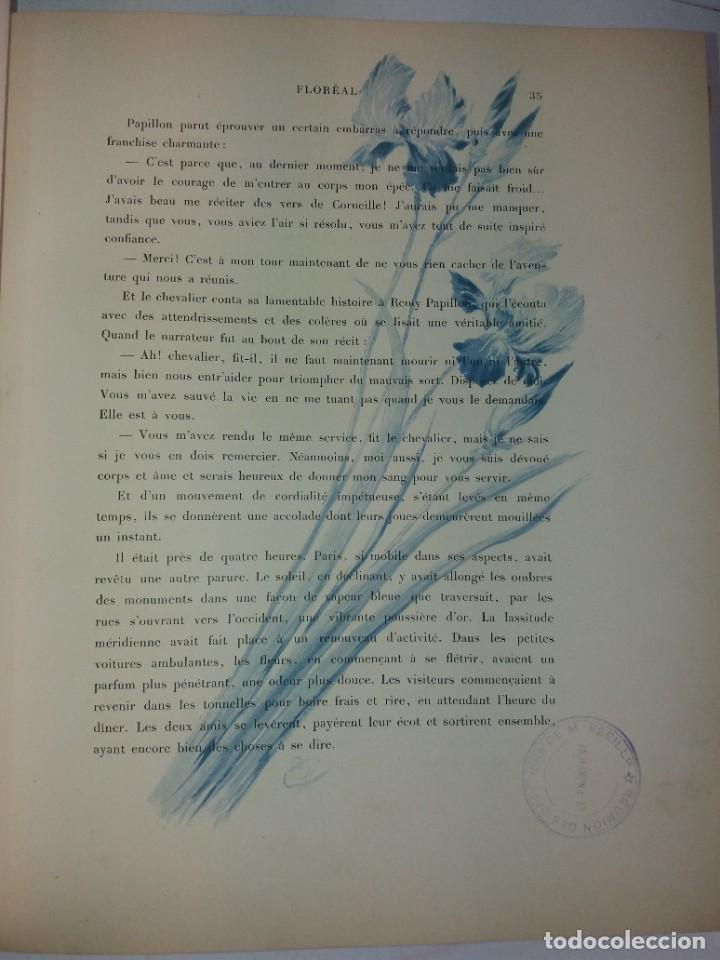 Libros antiguos: FLOREAL PRECIOSO Y EXTRAORDINARIO LIBRO UNICO EN TODOCOLECCION 1891 CASI 130 AÑOS - Foto 25 - 216600275