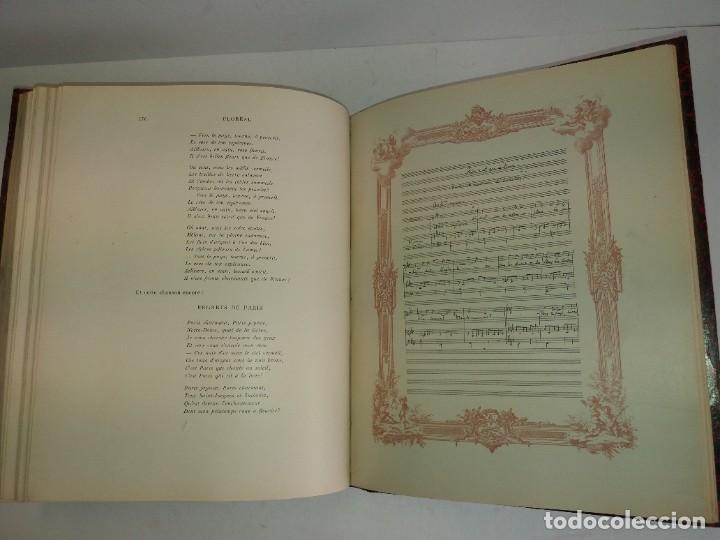 Libros antiguos: FLOREAL PRECIOSO Y EXTRAORDINARIO LIBRO UNICO EN TODOCOLECCION 1891 CASI 130 AÑOS - Foto 63 - 216600275