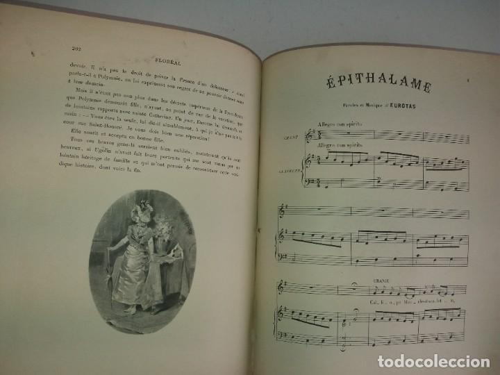 Libros antiguos: FLOREAL PRECIOSO Y EXTRAORDINARIO LIBRO UNICO EN TODOCOLECCION 1891 CASI 130 AÑOS - Foto 72 - 216600275