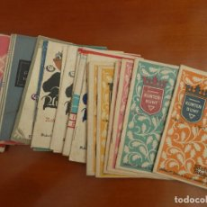 Libros antiguos: LOTE 55 LIBRITOS ALEMANES INFANTILES AÑOS 30 EPOCA NAZISMO. Lote 253076060