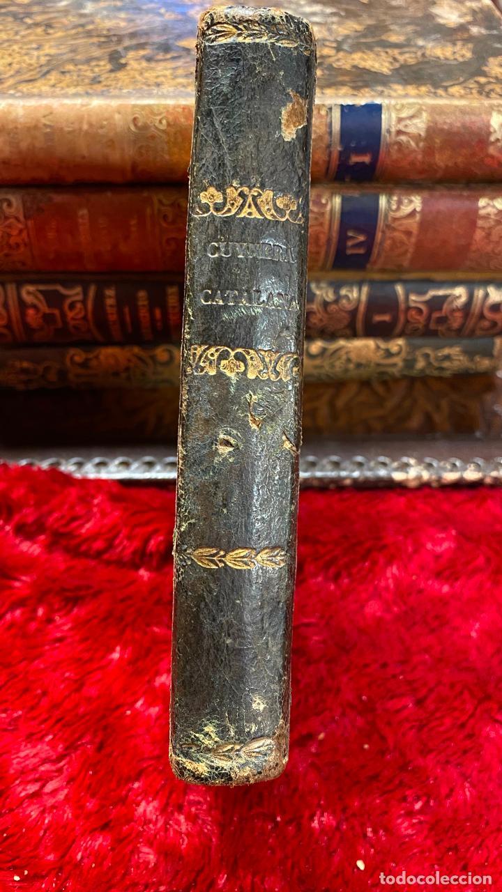 Libros antiguos: Libro cocina la cuynera catalana - la cuinera catalana La cocinera catalana - 4 cuadernos 1851 - Foto 6 - 216619165