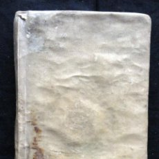 Libros antiguos: P. OVIDII NASONIS TRISTIUM LIBRI V. ARGUMENTIS, ET NOTIS HISPANICIS ILLUSTRATI - BARCINONE. Lote 216632722