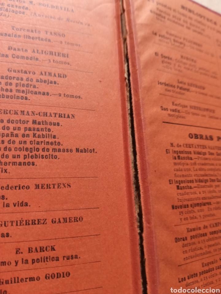 Libros antiguos: Un guerrillero García del Real 1899 - Foto 4 - 216713270