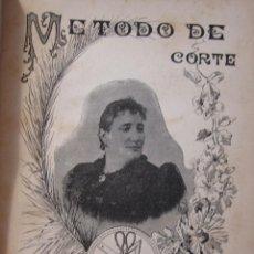 Libros antiguos: ACADEMIA DE CORTE. CONCEPCIÓN ROVIRA DE SERRA. METODO DE CORTE. VILANOVA I LA GELTRU, 1893. Lote 216890996