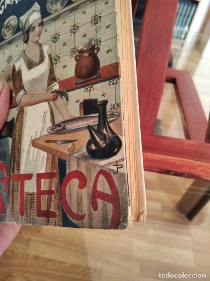 Libros antiguos: LA TECA-LA VERITABLE CUINA CASOLANA DE CATALUNYA-IGNASI DOMENECH-TIPOGRAFIA BONET-EXCELENTE - Foto 7 - 216978276