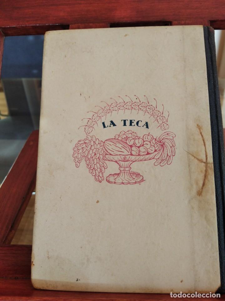 Libros antiguos: LA TECA-LA VERITABLE CUINA CASOLANA DE CATALUNYA-IGNASI DOMENECH-TIPOGRAFIA BONET-EXCELENTE - Foto 8 - 216978276
