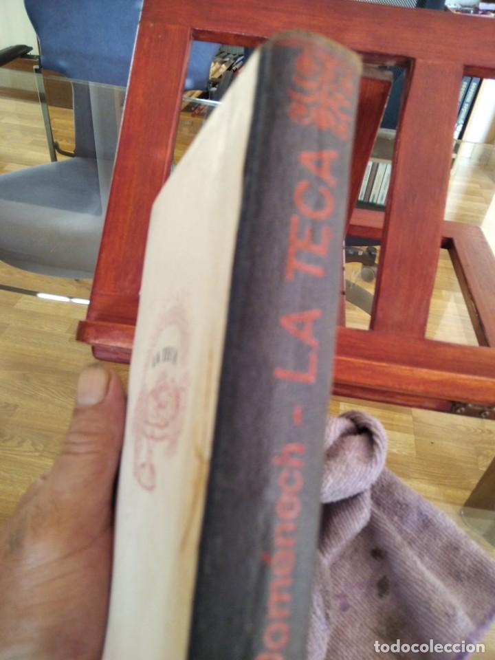 Libros antiguos: LA TECA-LA VERITABLE CUINA CASOLANA DE CATALUNYA-IGNASI DOMENECH-TIPOGRAFIA BONET-EXCELENTE - Foto 9 - 216978276