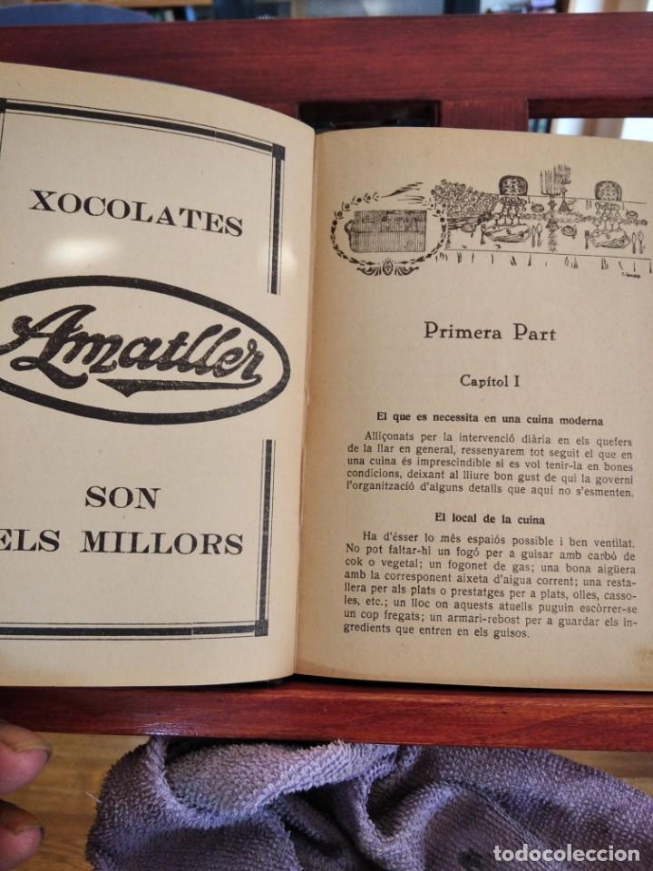 Libros antiguos: LA TECA-LA VERITABLE CUINA CASOLANA DE CATALUNYA-IGNASI DOMENECH-TIPOGRAFIA BONET-EXCELENTE - Foto 18 - 216978276