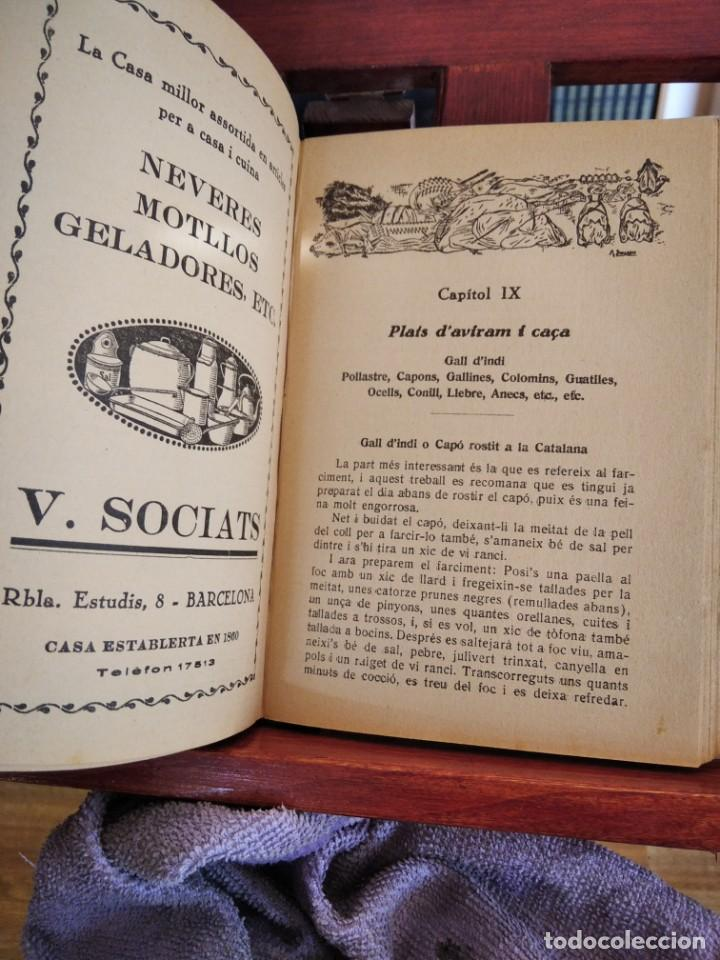 Libros antiguos: LA TECA-LA VERITABLE CUINA CASOLANA DE CATALUNYA-IGNASI DOMENECH-TIPOGRAFIA BONET-EXCELENTE - Foto 22 - 216978276