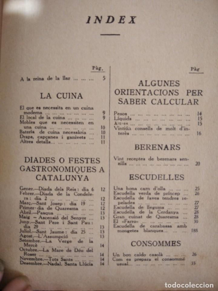 Libros antiguos: LA TECA-LA VERITABLE CUINA CASOLANA DE CATALUNYA-IGNASI DOMENECH-TIPOGRAFIA BONET-EXCELENTE - Foto 27 - 216978276