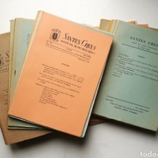 Libri antichi: BOLETIN SANTES CREUS DEL NÚM 1 AL 30 DE 1954 A 1969. Lote 216986301