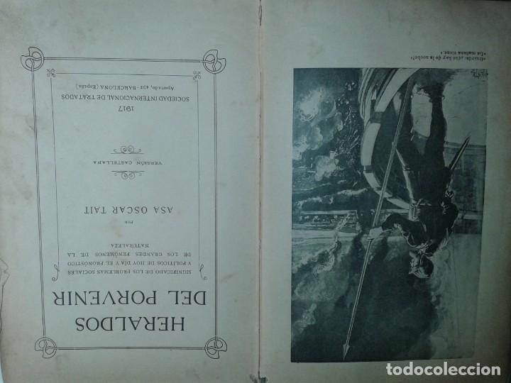 Libros antiguos: HERALDOS DEL PORVENIR 1917 ASA OSCAR TAIT EDITA SOCIEDAD INTERNACIONAL DE TRATADOS - Foto 2 - 217028468