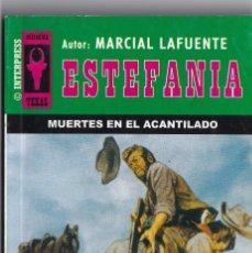 Livres anciens: NOVELA DE ESTEFANIA EDICIÓN INTERPRESS TEXAS TÍTULO MUERTES EN EL ACANTILADO Nº392 T 1º ESTRELLA. Lote 217074496