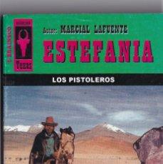 Livres anciens: NOVELA DE ESTEFANIA EDICIÓN BRAINSCO TEXAS TÍTULO LOS PISTOLEROS Nº286 T 1º ESTRELLA. Lote 217084966