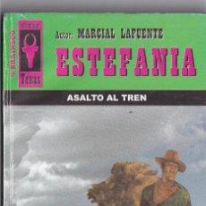 Livres anciens: NOVELA DE ESTEFANIA EDICIÓN BRAINSCO TEXAS TÍTULO ASALTO AL TREN Nº276 T 1º ESTRELLA. Lote 217085620