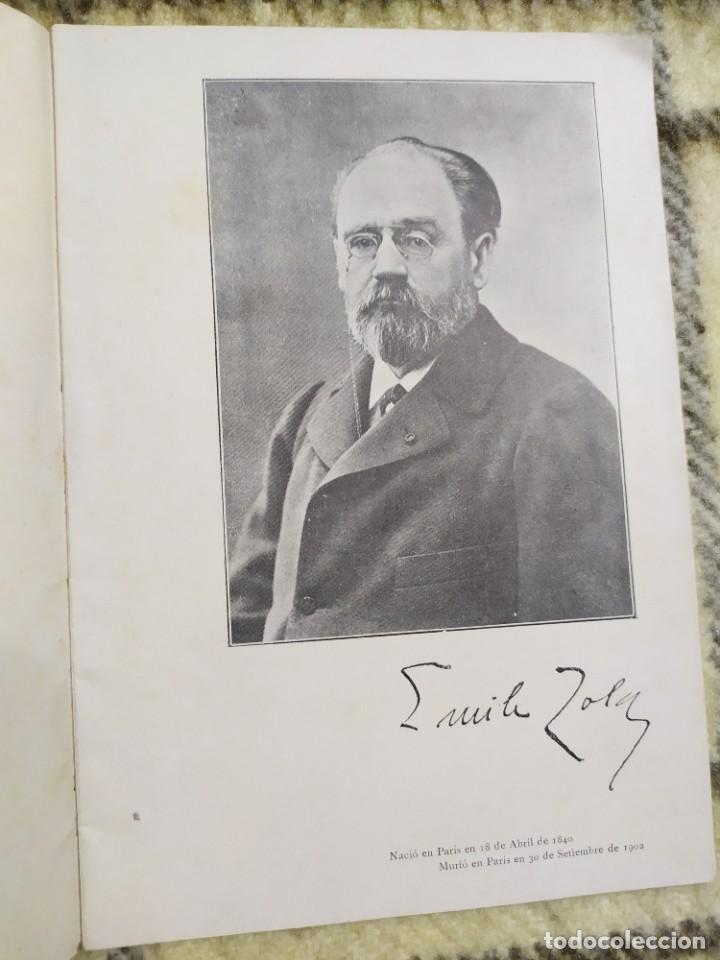 Libros antiguos: 1903. Conferencias Zola. - Foto 2 - 217254020