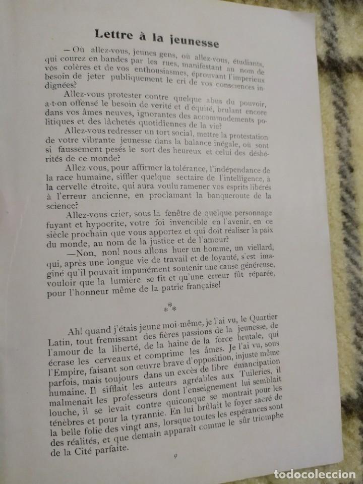 Libros antiguos: 1903. Conferencias Zola. - Foto 7 - 217254020