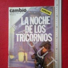 Livros antigos: CAMBIO 16 483 REVISTA 2 MARZO 1981 EL GOLPE TEJERO FAM7. Lote 217258685