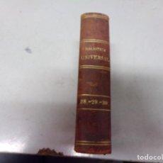 Libros antiguos: BIBLIOTECA UNIVERSAL 1881 - MEJORES AUTORES , CUATRO ÉPOCAS , LOS CELTAS. Lote 217414613
