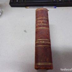 Libros antiguos: BIBLIOTECA UNIVERSAL 1881 - MEJORES AUTORES , QUINTANA , DON ALVARO DE LUNA. Lote 217415200
