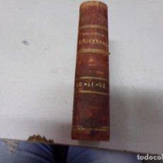 Libri antichi: BIBLIOTECA UNIVERSAL 1878 - MEJORES AUTORES , F. SCHILLER. Lote 217418333