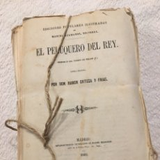 Libros antiguos: EL PELUQUERO DEL REY, POR DON RAMÓN ORTEGA Y FRÍAS, 1860. Lote 217424911