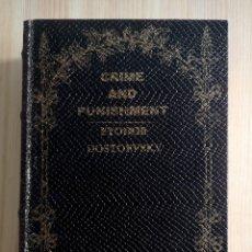 Libri antichi: CAJA SECRETA DE MADERA EN FORMA DE LIBRO DOSTOYEVSKY CRIMEN Y CASTIGO. Lote 209653076