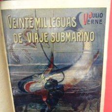 Libros antiguos: VEINTE MIL LEGUAS DE VIAJE SUBMARINO. JULIO VERNE. SOPENA. Lote 217477942