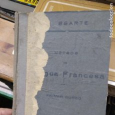 Libros antiguos: LENGUA FRANCESA (MÉTODO UGARTE), EDUARDO UGARTE Y ALBIZU. 1932. L.12820-586. Lote 217521916
