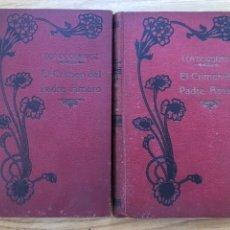 Libros antiguos: EL CRIMEN DEL PADRE AMARO DE EÇA DE QUEIROS. TRADUCCIÓN VALLE INCLÁN DOS TOMOS. Lote 217586521