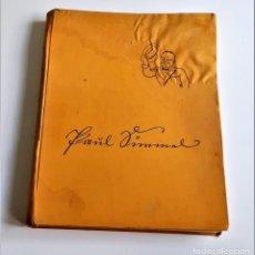 Livros antigos: 1933 LIBRO ÁLBUM NEUES ALEMÁN PAUL GIMMEL SÁTIRA SOCIAL POST I GUERRA MUNDIAL! RARO! - 24 X 31.CM. Lote 233610615
