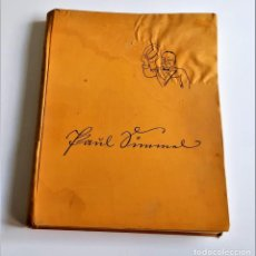 Livres anciens: 1933 LIBRO ÁLBUM NEUES ALEMÁN PAUL GIMMEL SÁTIRA SOCIAL POST I GUERRA MUNDIAL! RARO! - 24 X 31.CM. Lote 233610615