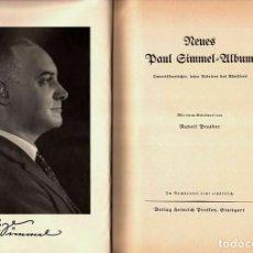 Libros antiguos: 1933 LIBRO ÁLBUM NEUES ALEMÁN PAUL GIMMEL SÁTIRA SOCIAL POST I GUERRA MUNDIAL! RARO! - 24 X 31.CM. Lote 217653390