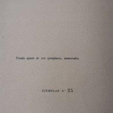 Libros antiguos: LA ENFERMEDAD DE GOYA - DANIEL SÁNCHEZ DE RIVERA. Lote 217692865