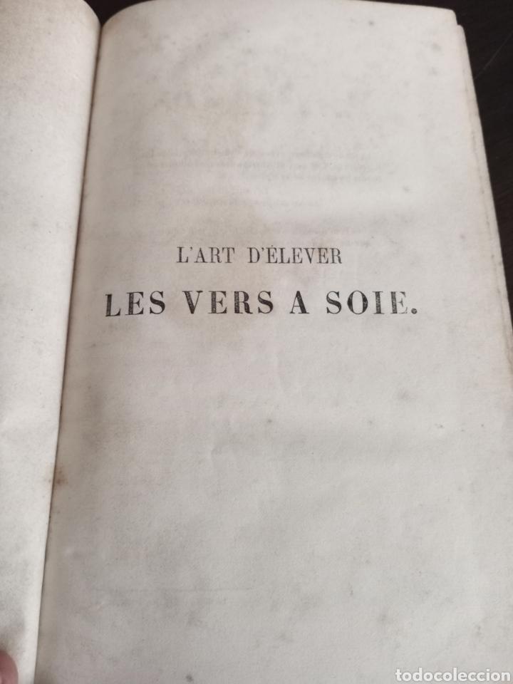 Libros antiguos: LES VERS A SOIE - Foto 4 - 217815092