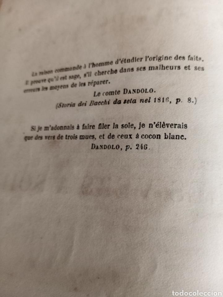 Libros antiguos: LES VERS A SOIE - Foto 6 - 217815092